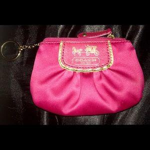 Coach women's coin purse